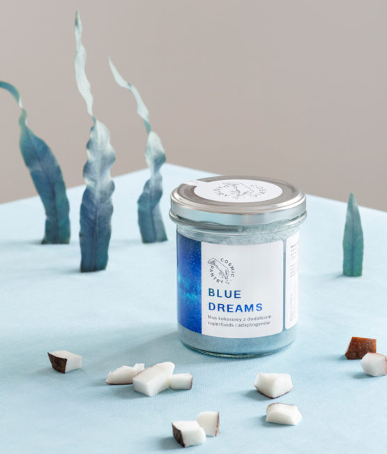 Mus kokosowy Blue Dreams 250 g - Cosmic Pantry